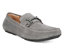 Alfani Mens James Suede Drivers Slip-On Loafers, Grey