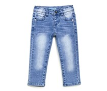 Guess Toddlers Five Pocket Jeans, Blue