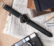 Men's Watch, Black