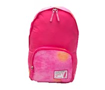Skechers Girls Social Living Backpack, Bright Pink