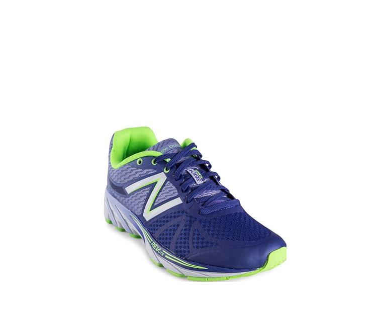 Women's  Neutral Running Shoe, Purple/Neon Green