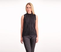 Guess Malika Knit Top, Black