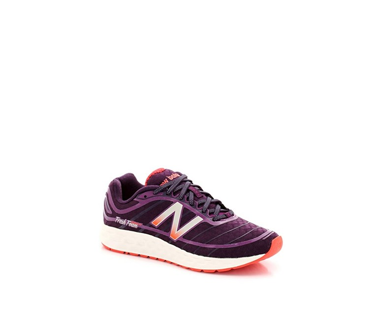 Women's Low Top Sneakers, Purple