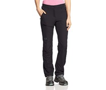 Jack Wolfskin Women's Active Softshell Pants, Black