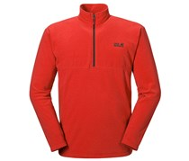 Jack Wolfskin Men's Sweaters, Orange