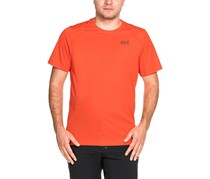 Jack Wolfskin Men's Sport T-shirt, Orange