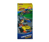 Disney Mickey and the Roadster Racers Tower Puzzle, Yellow/Blue