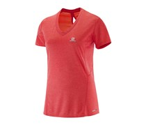 Salomon Women's Park SS Tee, Orange