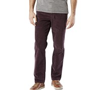 Dockers Men's Slim-Fit Alpha Khaki Pants, Plum
