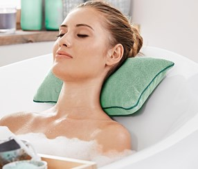 Bathtub Pillow, Jade Green