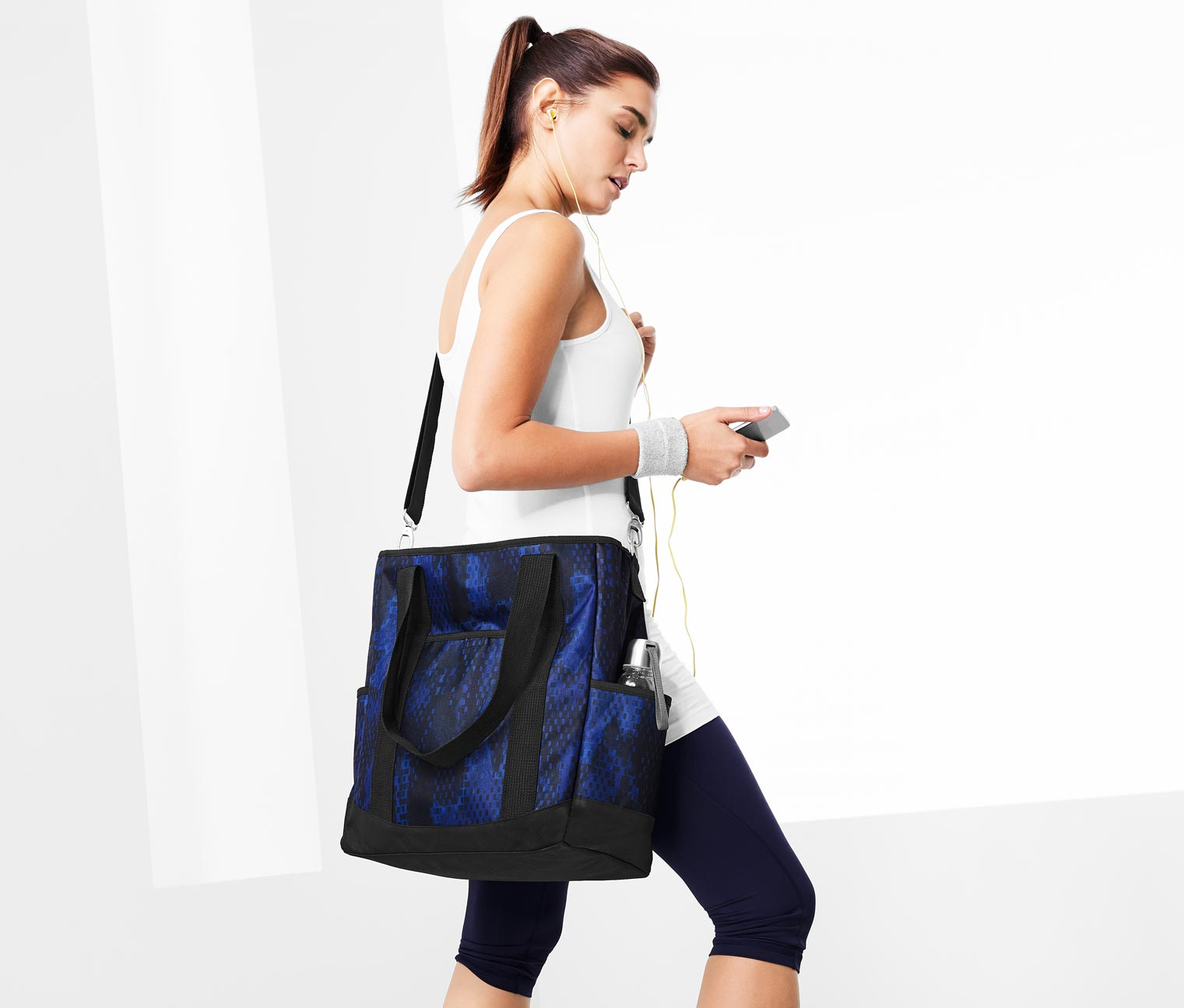 Sports Bag, Blue/Black