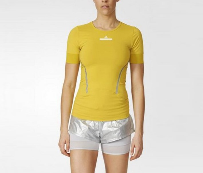 Women's Run Tee, Super Yellow