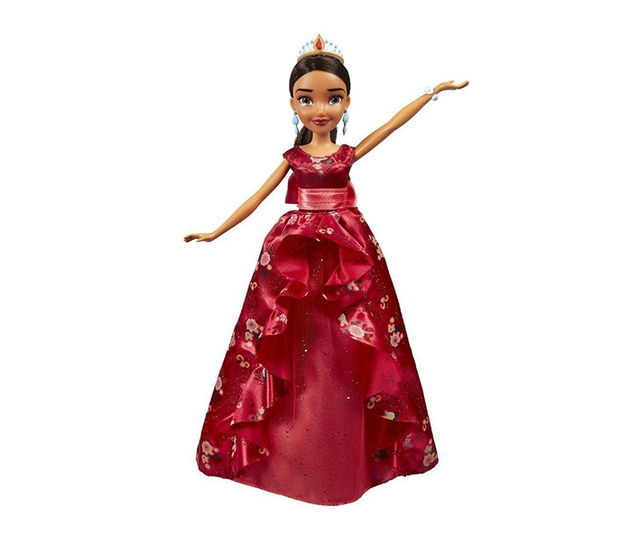Elena Of Avalor Royal Gown Doll, Red