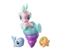 My Little Pony Baby Seapony Baby, Pink/Turquoise