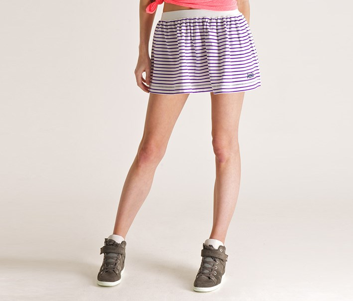 Womens Candy Stripe Skirt, Fluro Stripe Skirt
