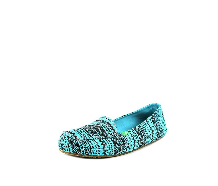 Womens Mirage Flats, Turquoise