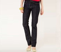 Guess Women's Textured Jeans, Navy Wash