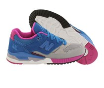 New Balance Women's 530 Bionic Boom Sneakers, Blue/Grey/Pink