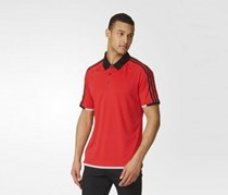 Adidas Men's Climachill Polo Shirt, Red