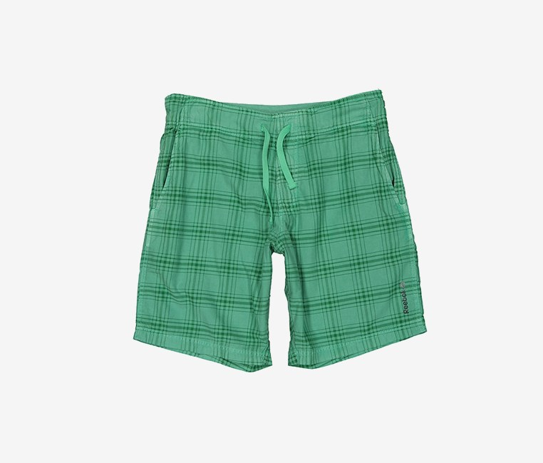 Men's Plaid Short, Green