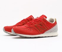 New Balance Leather MRL996WR Shoes, Red