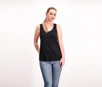 90 Degree Womens Missy Cage Bake Tank, Black