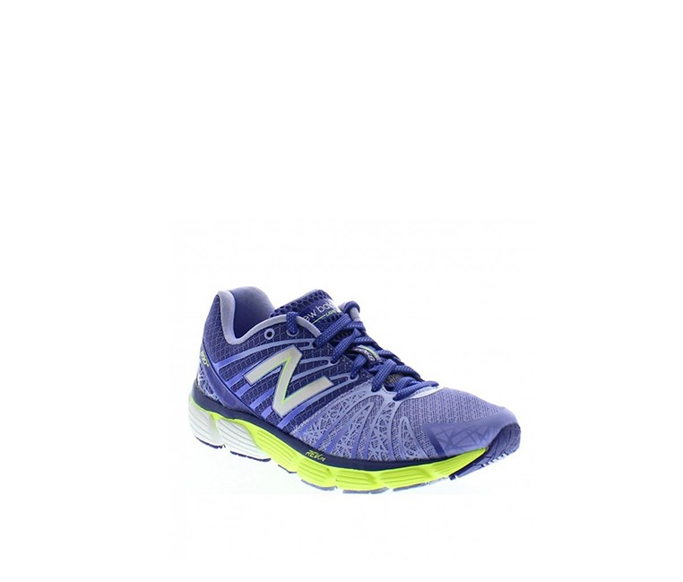 Women's Running Shoes, Blue/Lime