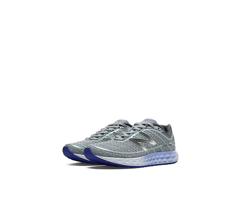 Women's Ankle-High Running Shoe, Grey