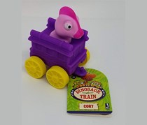 Dinosaur Train Mini Car Cory, Purple/Pink