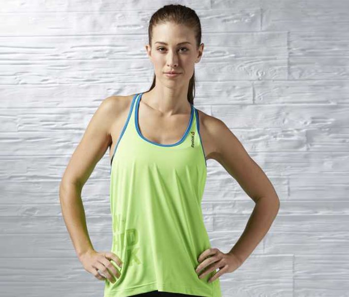 Women One Series Speedwick Tank, Solar Green