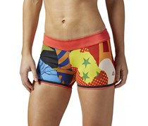 Reebok CrossFit Reversible Shorts, Red Combo