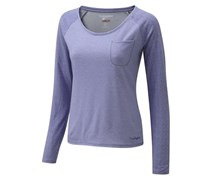 Craghoppers Women's NosiLife Base LS Top, Light Purpe
