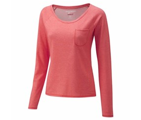 Craghoppers Women's NosiLife Base LS Top, Sunset