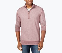 Weatherproof Vintage Men's Quarter-Zip Sweater, Port
