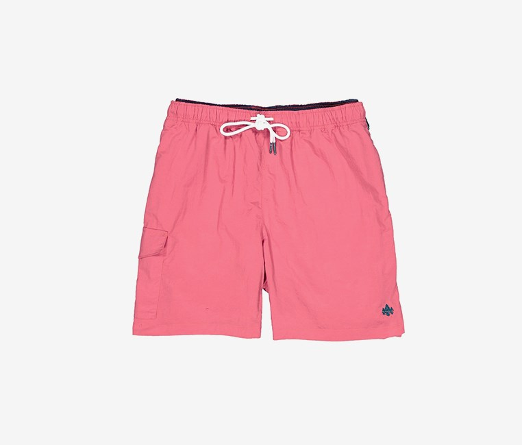 Men's Elastic Waist Side Pocket Short, Plemo