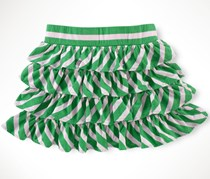 Ralph Lauren Girl's Skirt, Green/Pink
