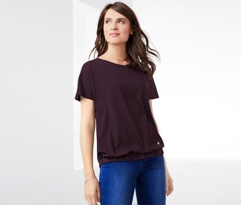 Women's Blouse Shirt, Plum