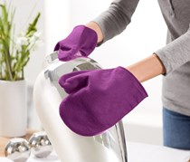 Gloves for Silver Cleaning, Purple