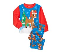 Rudolph The Red Nose Reindeer Christmas, Blue/Red