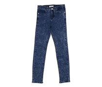 Guess Kids Girls Five Pockets Jeans, Blue