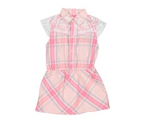 Guess Girl's Lace Dress, Pink