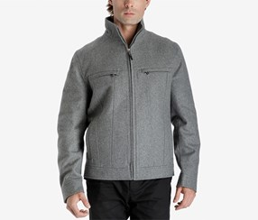 Michael Kors Men's Hipster Coat, Grey
