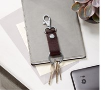 Men's Key Chain, Brown
