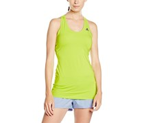 Adidas Women's Athletic Tank Top, Lime Green
