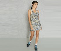 Adidas Womens Camo Performance Tank, Olive Combo