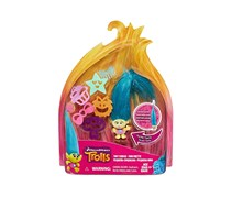 DreamWorks Trolls Hair Raising Tiny Smidge, Teal