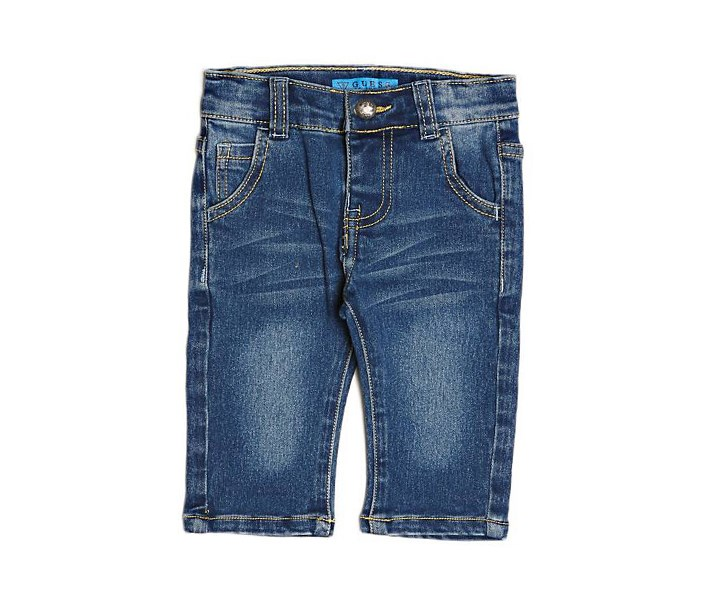 Baby Girl's Slim 5 Pocket Jeans, Blue