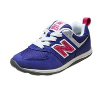 New Balance Baby Girls Retro Shoes, Purple