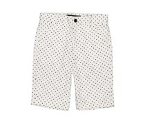 Guess Boy's Dotted Short, Off White
