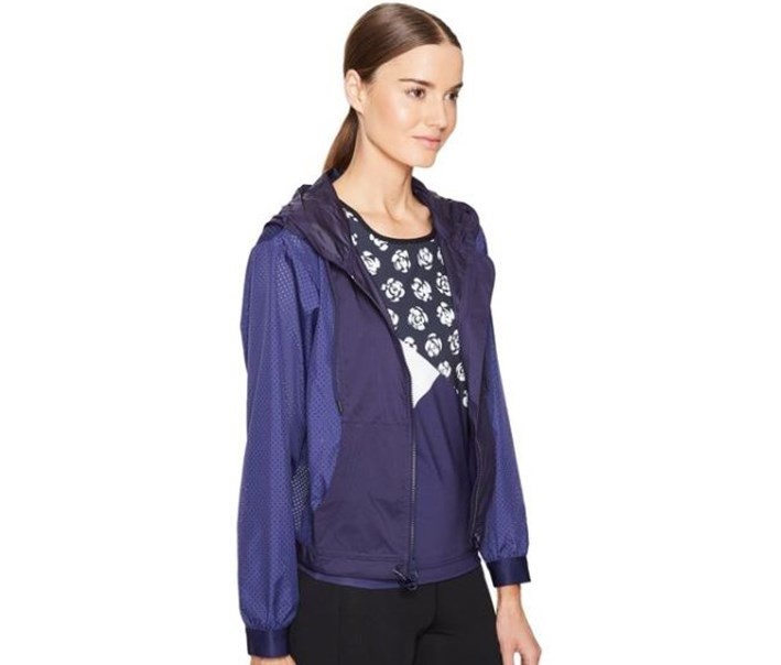 Women Essentials Track Top, Navy Blue